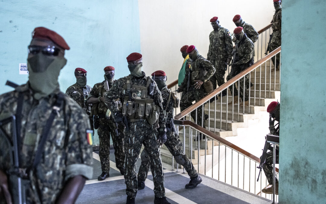 Guinea coup leaders begin transitional government talks | Guinea News | Al Jazeera